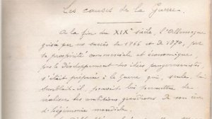© DR Jean-Jacques Dumur Un manuscrit authentifié par un expert judiciaire en écritures